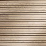 Slatted timber absorption