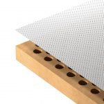 Micro-perforated absorption